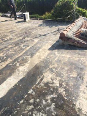 Αποξήλωση ασφαλτόπανου σε Ταράτσα 120τμ & μόνωση με πολυουρεθάνη - Νέα Μάκρη