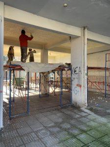 Μόνωση Πυλωτής 85τμ με πολυουρεθάνη στο Παλαιό Φάληρο