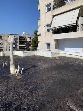 Μόνωση Ταράτσας 140τμ με πολυουρεθάνη - Παλλήνη