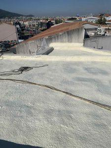 Θερμομόνωση & στεγάνωση κεκλιμένης ταράτσας 125τμ με spay πολυουρεθάνης - Παλλήνη